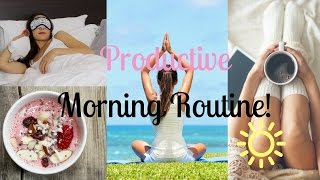 Download My Productive Morning Routine | Study With Jess Video