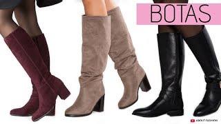Download MODA en BOTAS | Tendencias Zapatos Otoño Invierno 2019 2020 de caña alta y baja, con tacón o planos Video