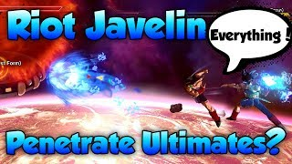 Download Can Riot Javelin Penetrate Ultimates? - Dragon Ball Xenoverse 2 Video