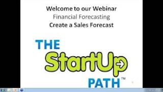 Download Financial Forecasting - Create a Sales Forecast Video