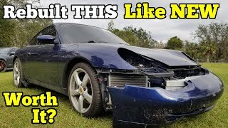 Download I Paid $4,250 for a Salvage Auction Porsche 911 & Spent A LOT More to Rebuild it 100% Video