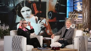 Download Ellen Chats with Carrie Fisher Video