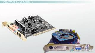 Download What is Computer Hardware Components, Definition & Examples Video & Lesson Transcript Study c Video