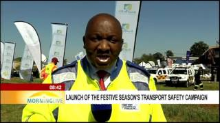Download Launch of the festive season's transport safety campaign 2 Video
