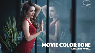 Download Movie Color Tone Photoshop Tutorial | Cinematic Grading Video