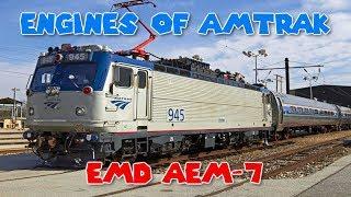 Download Engines of Amtrak - EMD AEM-7 Video