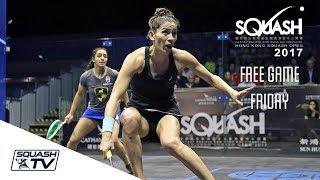 Download Squash: Free Game Friday - El Welily v King - Hong Kong 2017 Video