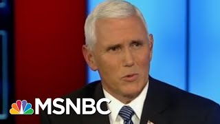 Download Mike Pence's Views On Whistleblowers Now And Then | Morning Joe | MSNBC Video
