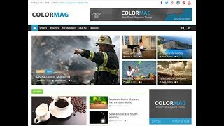 Download ColorMag Wordpress theme Video