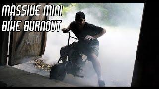 Download Mini Bike Massive Burnout, Leopard Seat, & Governor Removal Video