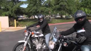 Download Yamaha Bolt vs Harley Sportster 883 Drag Race Video
