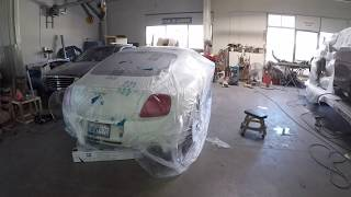 Download REBUILDING A WRECKED BENTLEY GT COUPE IN FOR MINOR COLLISION REPAIRS Video