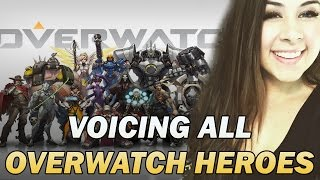 Download VOICE IMPRESSIONS OF ALL OVERWATCH HEROES! Video