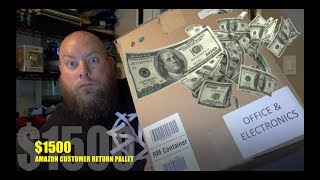 Download I bought a $1500 Amazon Electronics Customer Returns Pallet / Mystery Boxes Video