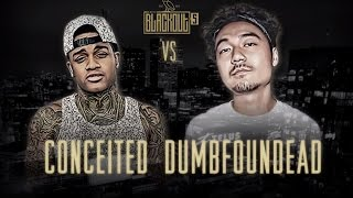 Download KOTD - Rap Battle - Conceited vs Dumbfoundead | #Blackout5 Video