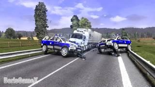 Download ETS 2 Hot Pursuit Mode - Contraband Cargo - Traffic Police - Нелегальные Грузы - Мод Полиции Video