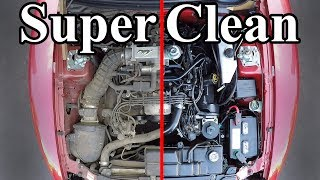 Download How to SUPER CLEAN your Engine Bay Video