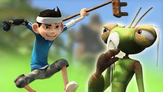Download Insectibles   ENTER THE MANTIS BROADCAST Ep #11   Cartoons For Children by Oddbods & Friends Video