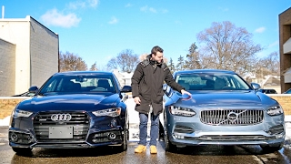 Download Luxury Sedan Fight! | '17 Audi A6 vs Volvo S90 T6 AWD Video
