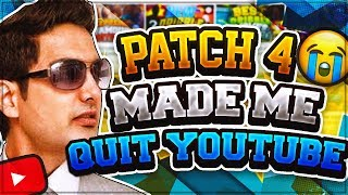 Download I'M QUITTING YOUTUBE?? • PATCH 4 RUINED NBA 2K18 • RONNIE2K MADE ME QUIT YOUTUBE Video