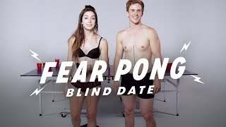 Download Blind Dates Play Fear Pong (Analisa & Aaron) | Fear Pong | Cut Video