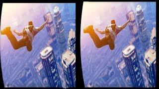 Download 3D GTA V FREE PARACHUTE JUMP COLLECTION VR Videos 3D SBS Google Cardboard VR Virtual Reality VR Box Video