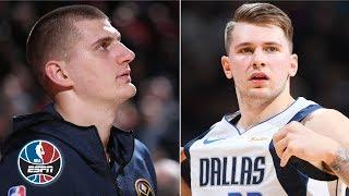 Download Luka Doncic, Nikola Jokic both drop big double-doubles in Denver | NBA Highlights Video