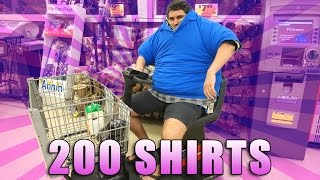 Download WEARING 200 SHIRTS IN THE GROCERY STORE Video