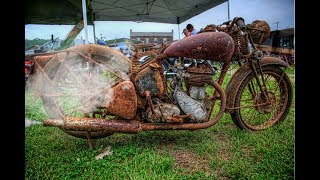 Download Old Motorcycle Starting Up After Many Years ! Video