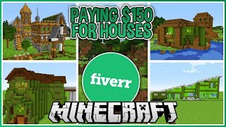 Download I Paid People to Build me a Minecraft House! Video