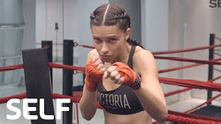 Download Victoria's Secret Angel Adriana Lima's 4-Move Boxing Workout | SELF Video