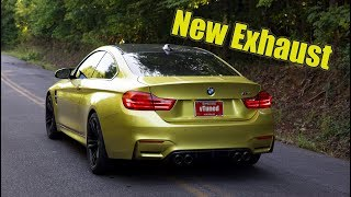 Download Installing an ARMYTRIX Exhaust on my Rebuilt BMW M4 Video
