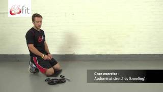Download Abdominal Exercises & Workout using the 66fit Abdominal Roller Wheel - Part 1 Video