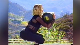 Download Khloe Kardashians Demonstrates How to Get A Booty in Retro Workout Video Video
