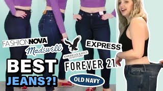 Download Trying Size 10 at Every Store & Finding the BEST JEANS for Curvy Women Video