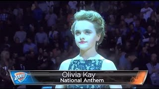 Download Olivia Kay- OFFICIAL NBA Thunder vs Clippers NYE 2016 National Anthem Video