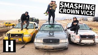 Download Taxi Cab Rallycross: Door-to-Door Smashing Crown Vics For The 2019 Taxiderby Video