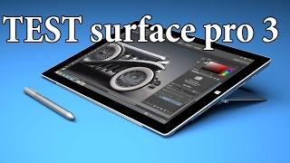 Download test SURFACE PRO 3 Taillé pour le dessin? Video