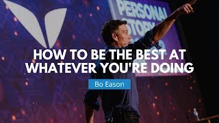 Download How To Be The Best At What You Do | Bo Eason Video