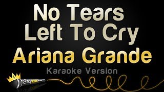 Download Ariana Grande - No Tears Left To Cry (Karaoke Version) Video