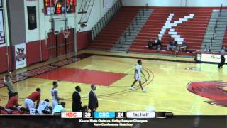 Download Keene State Men's Basketball vs Colby Sawyer Video