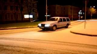 Download Volvo 740 TURBO snow fun Video