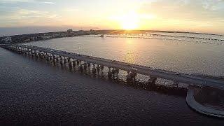 Download Aerial Bradenton Florida - Manatee River Video