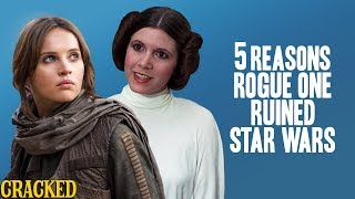 Download 5 Reasons Rogue One Ruined Star Wars - Reckless Disagreement (Tarkin, Princess Leia) Video