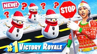 Download STOP & GO SNOWMAN Challenge *NEW* GAME MODE in Fortnite Battle Royale Video