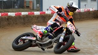 Download Marc Marquez & Brad Baker | Superprestigio Dirt Track 2016 Training Day Rufea by Jaume Soler Video