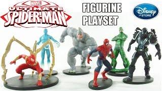 Download Ultimate Homem-Aranha Playset de Miniaturas Disney Store [Review] Video