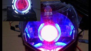 Download Cara Membuat lampu Ala Projie Angel Eye dari Senter LED Video