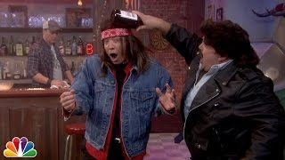 Download Slow-Motion Bar Fight with Kevin James and Jimmy Fallon Video