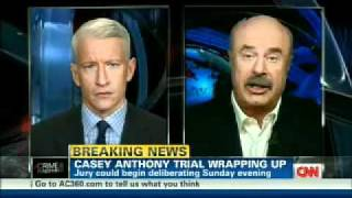 Download Dr. Phil & Anderson Cooper Discuss the Casey Anthony Trial Video